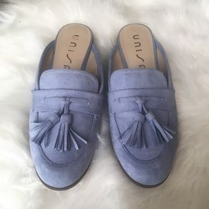Unisa Shoes - Unisa baby blue slides